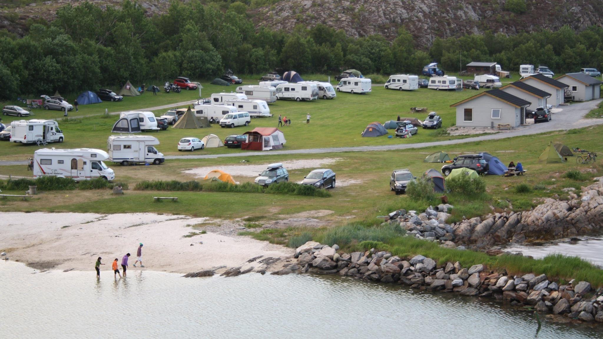 Torghatten Camping og badestrand