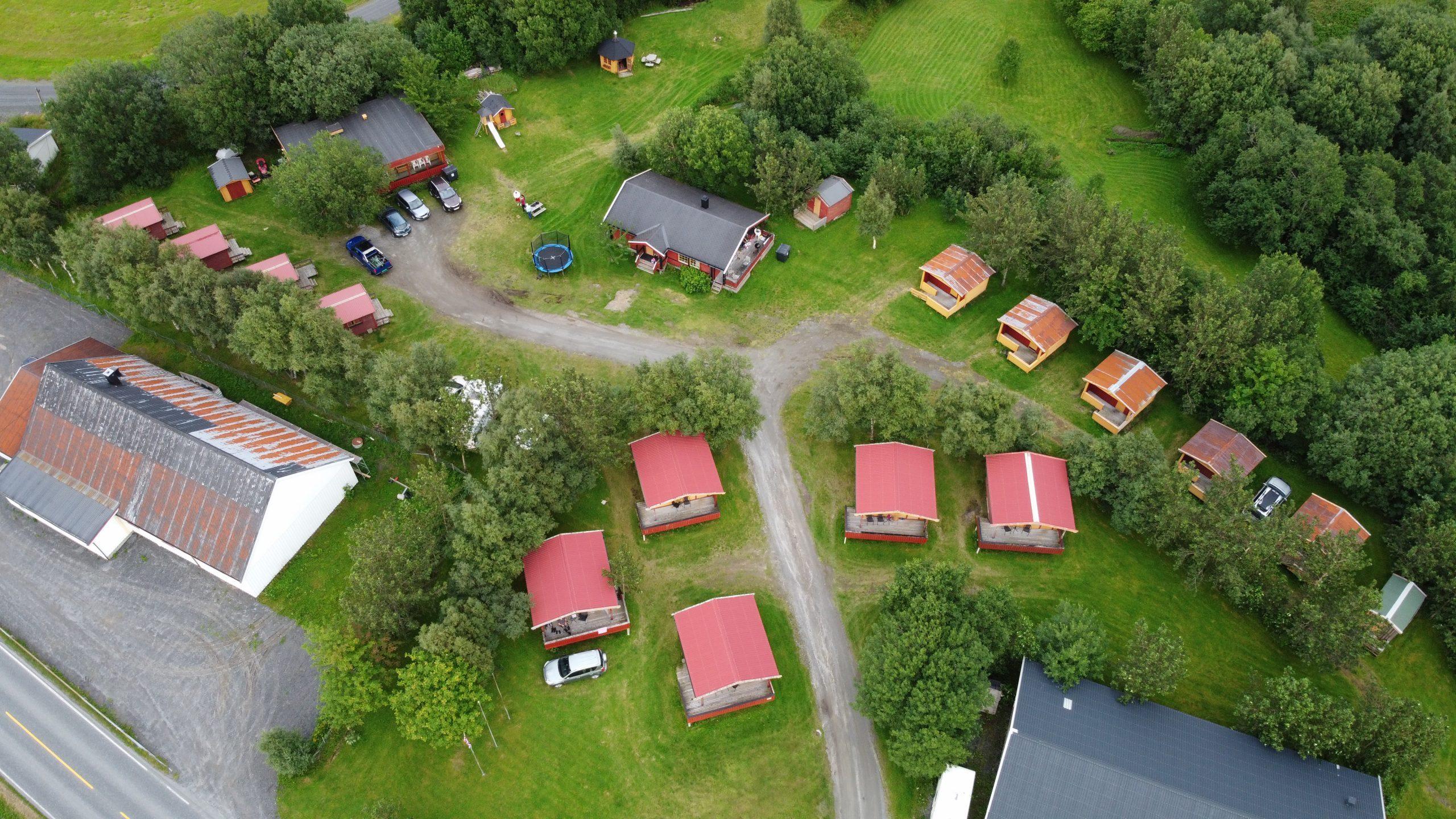 Skogmo Familiecamping- Oversikt hytter