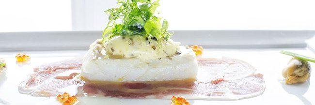Vega Havhotell den velkjente pannestekte torsken, en symfoni av smaker
